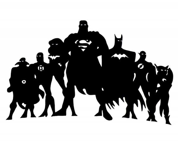 Superman, Batman, Wonder Woman by iankingart